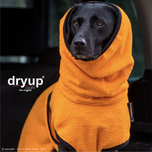 dryup cape Hundebademantel clementine